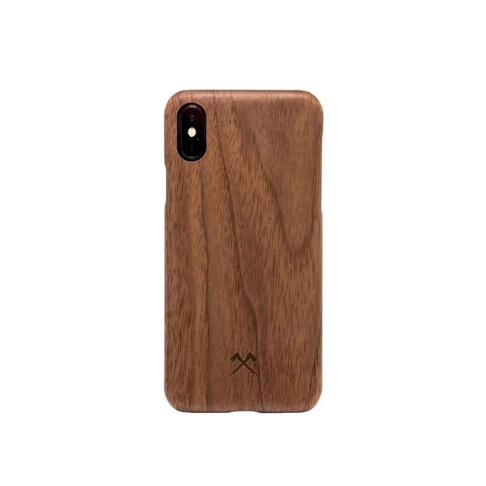 Деревянный чехол Woodcessories Ultra Slim Case Walnut для iPhone X   XS
