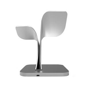 Купить Алюминиевая док-станция WP1 Stand Silver для iPhone/Apple Watch