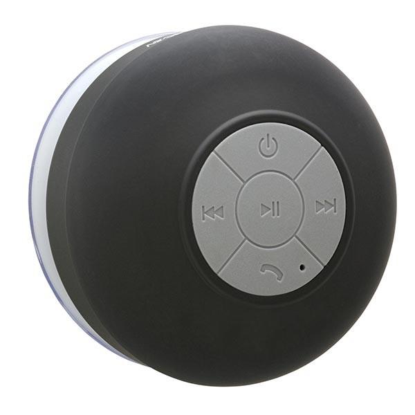 Черная водонепроницаемая беспроводная колонка iLoungeMax hi-Shower для душа