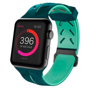 Купить Ремешок X-Doria Action Band Green Mint для Apple Watch 42mm Series 1/2/3