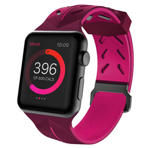Купить Ремешок X-Doria Action Band Purple Pink для Apple Watch 42mm/44mm Series 1/2/3/4