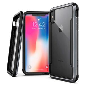 Купить Противоударный чехол X-Doria Defense Shield Black для iPhone XS Max