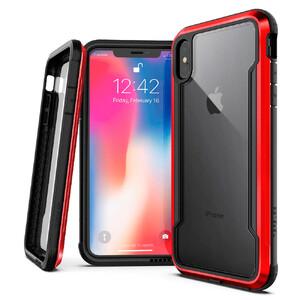 Купить Противоударный чехол X-Doria Defense Shield Red для iPhone XS Max