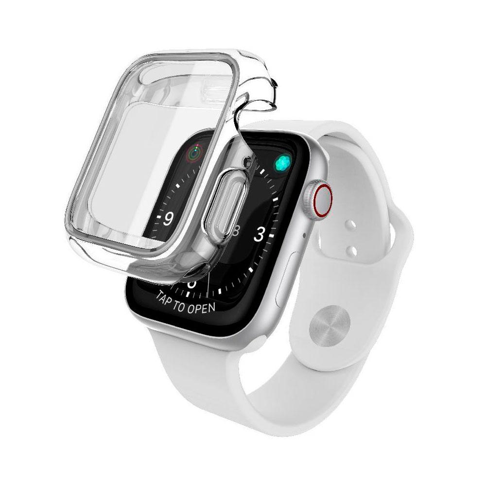 Купить Чехол X-Doria Defense 360° Transparent для Apple Watch 44 mm Series 5 | 4