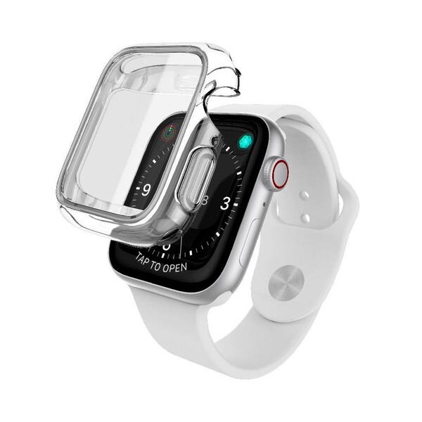 Чехол X-Doria Defense 360° Transparent для Apple Watch 44 mm Series SE   6   5   4