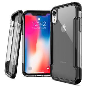 Купить Противоударный чехол X-Doria Defense Clear Black для iPhone XR