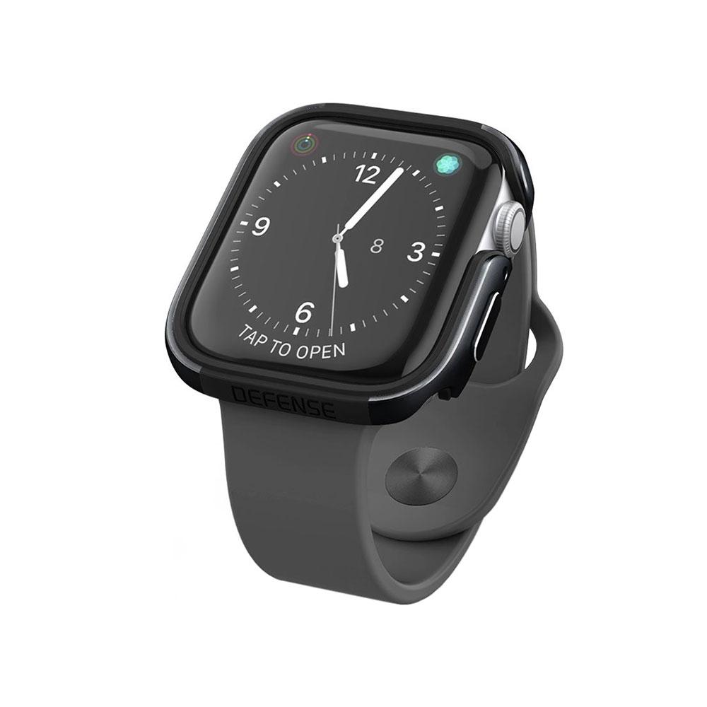 Купить Противоударный чехол X-Doria Defense Edge Black для Apple Watch 44mm SE | 6 | 5 | 4