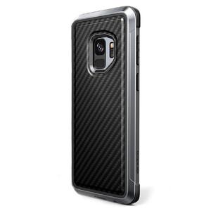 Купить Противоударный чехол X-Doria Defense Lux Black Carbon для Samsung Galaxy S9