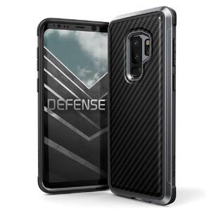 Купить Противоударный чехол X-Doria Defense Lux Black Carbon для Samsung Galaxy S9 Plus