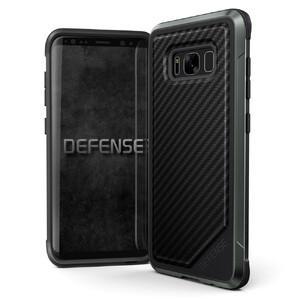 Купить Противоударный чехол X-Doria Defense Lux Black Carbon для Samsung Galaxy S8