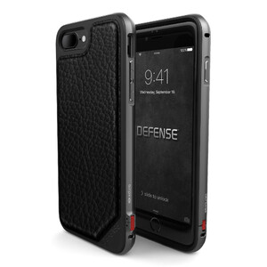 Купить Чехол X-Doria Defense Lux Black Leather для iPhone 7 Plus