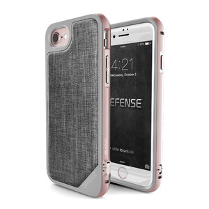 Купить Чехол X-Doria Defense Lux Rose Gold для iPhone 7/8