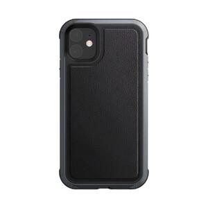 Купить Противоударный чехол X-Doria Defense Lux Black Leather для iPhone 11