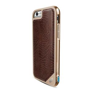 Купить Чехол X-Doria Defense Lux Brown Croc для iPhone 6/6s