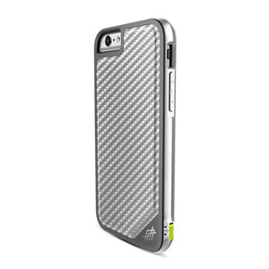 Купить Чехол X-Doria Defense Lux Silver Carbon для iPhone 6/6s Plus