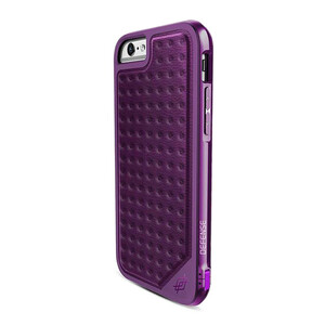 Купить Чехол X-Doria Defense Lux Purple Impression для iPhone 6/6s