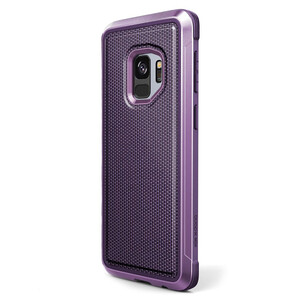 Купить Противоударный чехол X-Doria Defense Lux Purple Ballistic Nylon для Samsung Galaxy S9