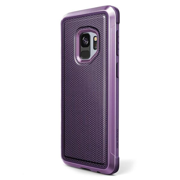Противоударный чехол X-Doria Defense Lux Purple Ballistic Nylon для Samsung Galaxy S9