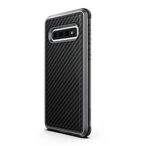Купить Противоударный чехол X-Doria Defense Lux Black Carbon для Samsung Galaxy S10