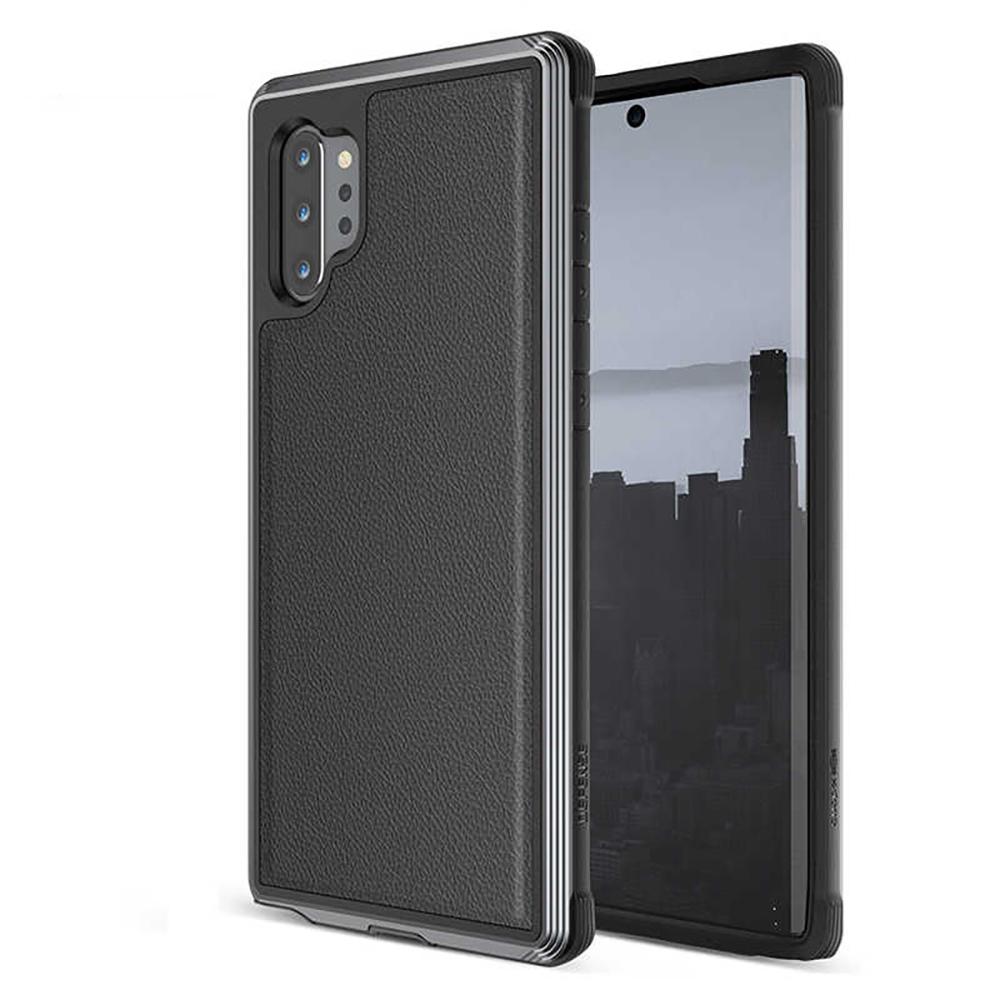 Купить Противоударный чехол X-Doria Defense LUX Black для Samsung Note 10+