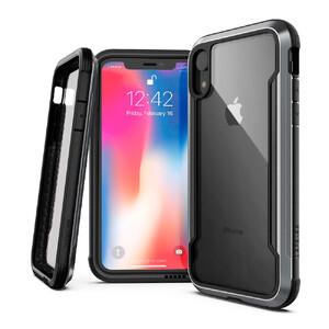 Купить Противоударный чехол X-Doria Defense Shield Black для iPhone XR