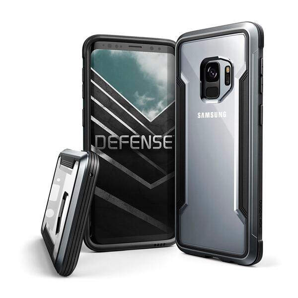 Противоударный чехол X-Doria Defense Shield Black для Samsung Galaxy S9