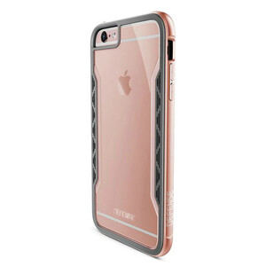 Купить Чехол X-Doria Defense Shield Rose Gold для iPhone 6/6s Plus