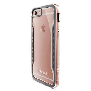 Купить Чехол X-Doria Defense Shield Rose Gold для iPhone 6/6s