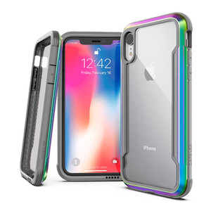 Купить Противоударный чехол X-Doria Defense Shield Iridescent для iPhone XR
