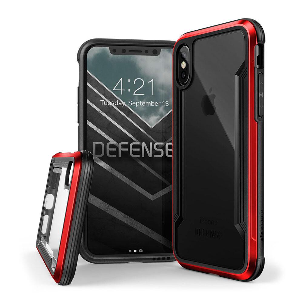 Противоударный чехол X-Doria Defense Shield Red для iPhone X/XS
