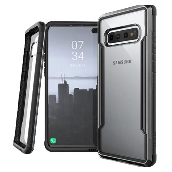 Противоударный чехол X-Doria Defense Shield Black для Samsung Galaxy S10 Plus