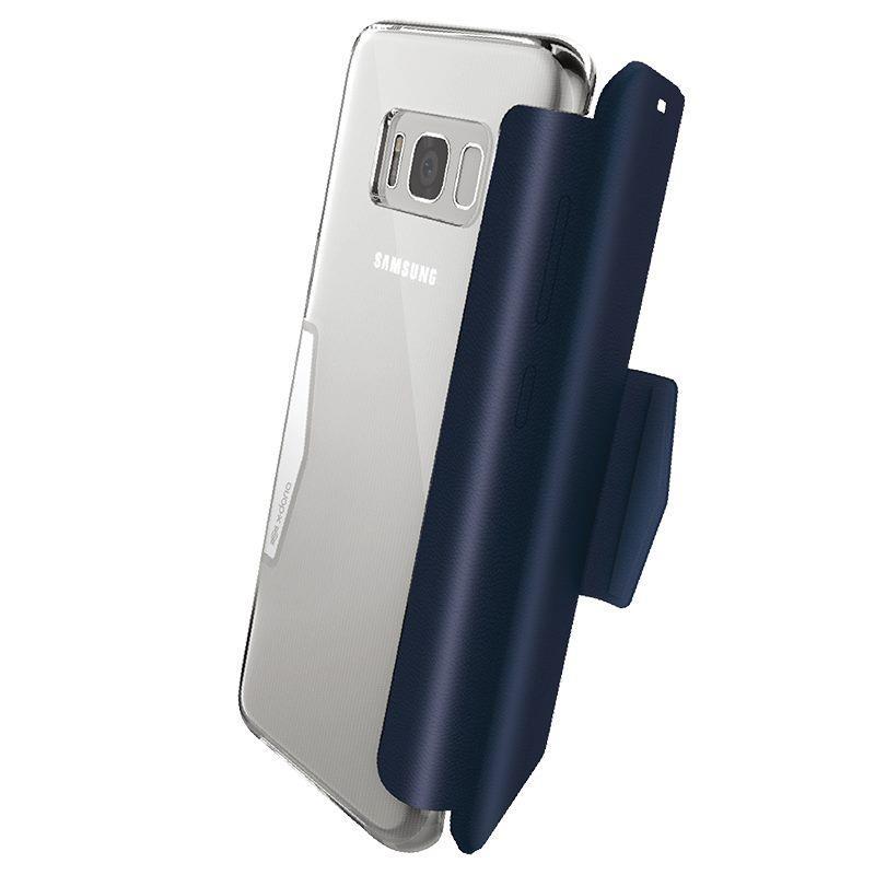 Купить Чехол X-Doria Engage Folio Dark Blue для Samsung Galaxy S8 Plus