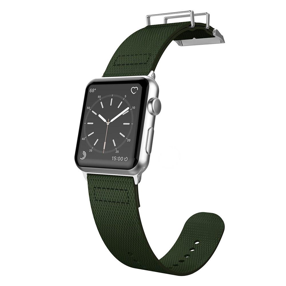 Нейлоновый ремешок X-Doria Field Band Olive для Apple Watch 42mm Series 1/2/3