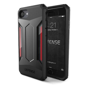 Купить Защитный чехол X-Doria Defense Gear Space Gray для iPhone 7