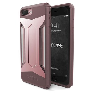 Купить Защитный чехол X-Doria Defense Gear Rose Gold для iPhone 7 Plus/8 Plus