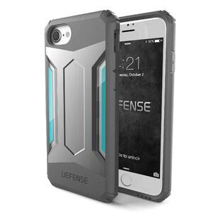 Купить Защитный чехол X-Doria Defense Gear Silver для iPhone 7/8