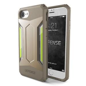 Купить Защитный чехол X-Doria Defense Gear Gold для iPhone 7/8