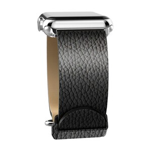 Купить Кожаный ремешок X-Doria Lux Band Black Leather для Apple Watch 42mm/44mm Series 1/2/3/4