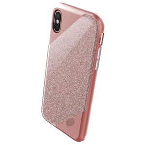 Купить Чехол X-Doria Revel Lux Glitter Rose Gold для iPhone X/XS