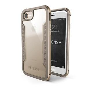 Купить Защитный чехол X-Doria Defense Shield Gold для iPhone 7