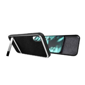Купить Чехол с подставкой X-Doria Stander Series Black для iPhone X/XS