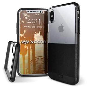 Купить Чехол X-Doria Dash Black Leather для iPhone X