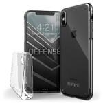 Чехол с защитным стеклом X-Doria Defense 360° для iPhone X/XS