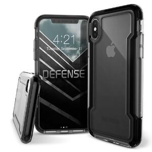 Купить Противоударный чехол X-Doria Defense Clear Black для iPhone X