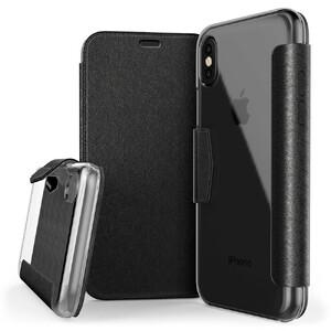 Купить Чехол X-Doria Engage Folio Black для iPhone X