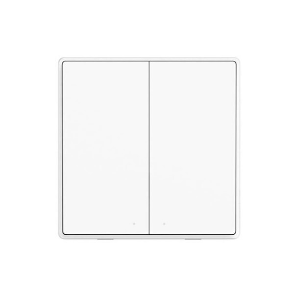 Умный дистанционный выключатель Xiaomi Aqara D1 Wireless Switch (двойной)