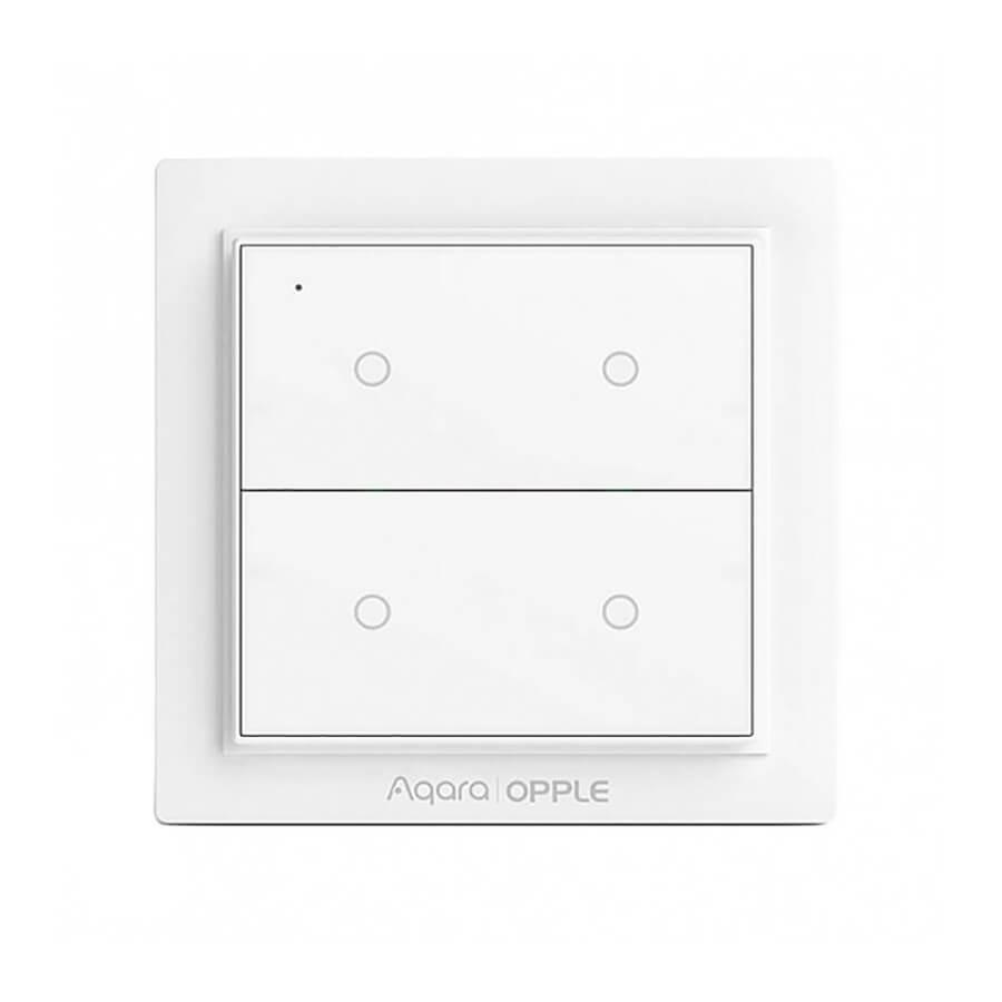 Купить Умный выключатель для управления гаджетами Xiaomi Aqara Opple Zigbee 3.0 (4 кнопки)