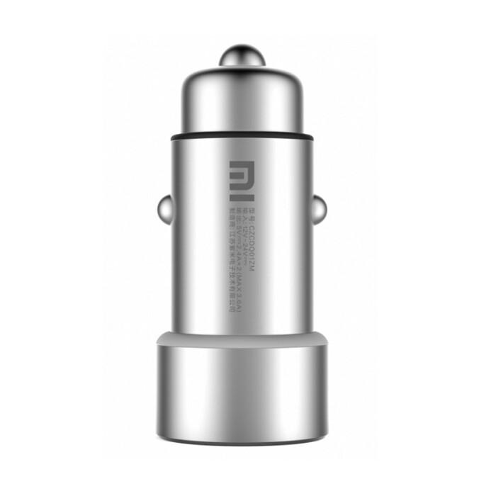 Автозарядка Xiaomi Mi Car Charger Silver