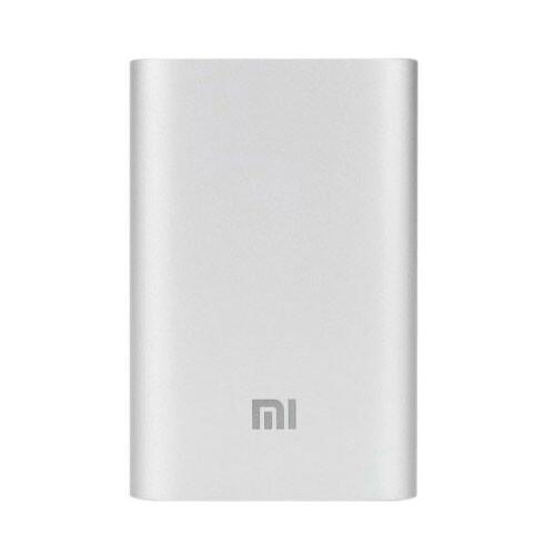 Портативное зарядное устройство Xiaomi Mi Power Bank 10000mAh Silver (NDY-02-AD)