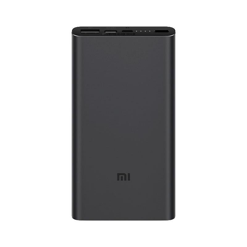 Универсальный внешний аккумулятор Xiaomi PowerBank 3 USB-C 10000 mAh Black